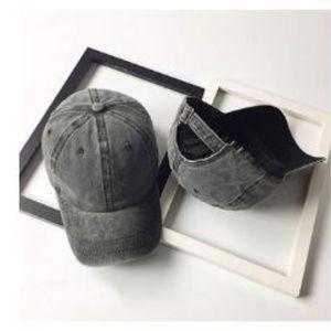 Unisex Vintage Washed Distressed Baseball-Cap